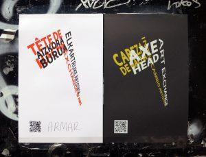 Axe Head Art Exchange (posters)