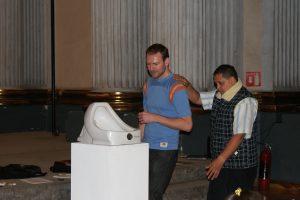 Conceptual Art Workshop for the Blind - Exploring Marcel Duchamp's Fountain