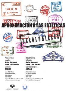 Aproximaciones a las Estéticas Decoloniales (póster)