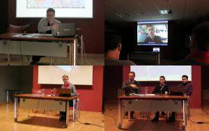 """""""Arte en el buzón"""" conference presentations"""