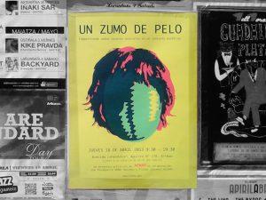 Un zumo de pelo (poster)