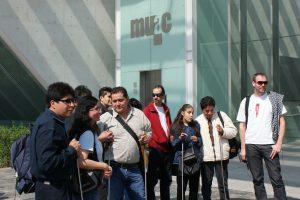 Conceptual Art Workshop for the Blind - Museum Visit (Cildo Meireles at MUAC, Mexico City)