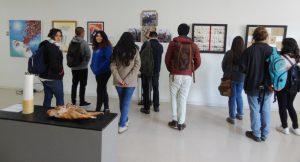CALEUCHE exhibition opening, Universidad Bio-Bio, Concepción Chile